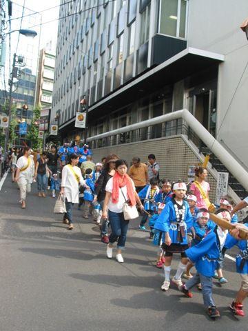 櫻木神社例大祭、山車