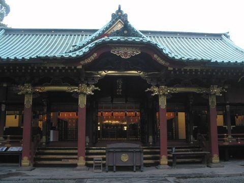 根津神社、本殿