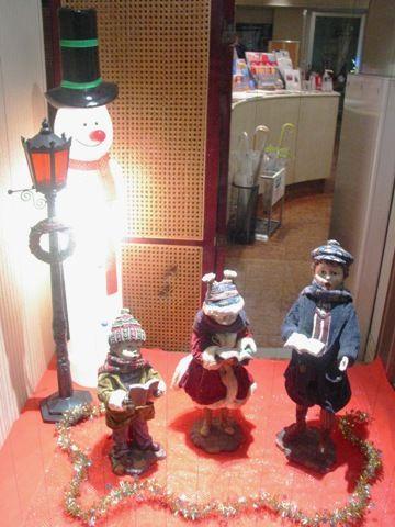 クリスマスの飾り物たち