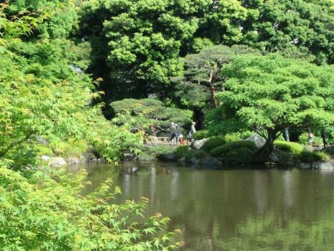 日本庭園、古河庭園