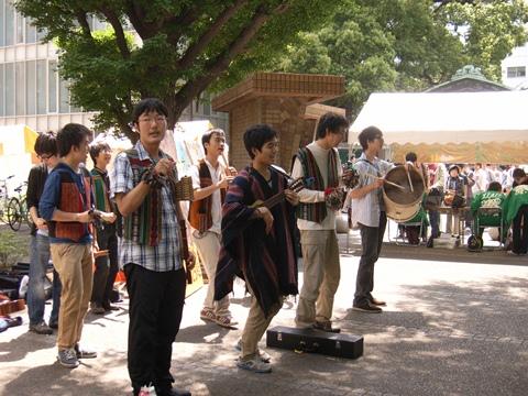 五月祭、民族音楽研究会
