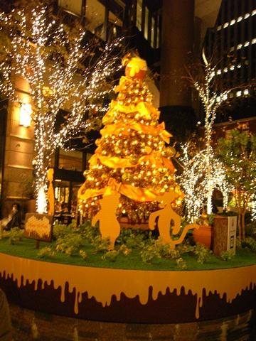 プーさんのクリスマスツリー