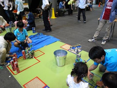 五月祭、工学部ロボット体験