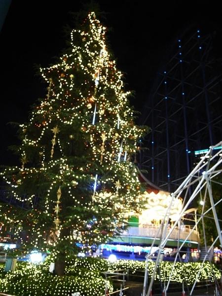 東京ドームシティ、クリスマスイルミネーション