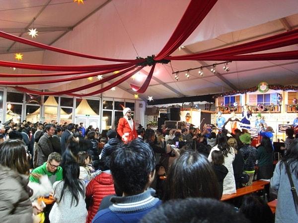 東京クリスマスマーケット2016、イベントステージ